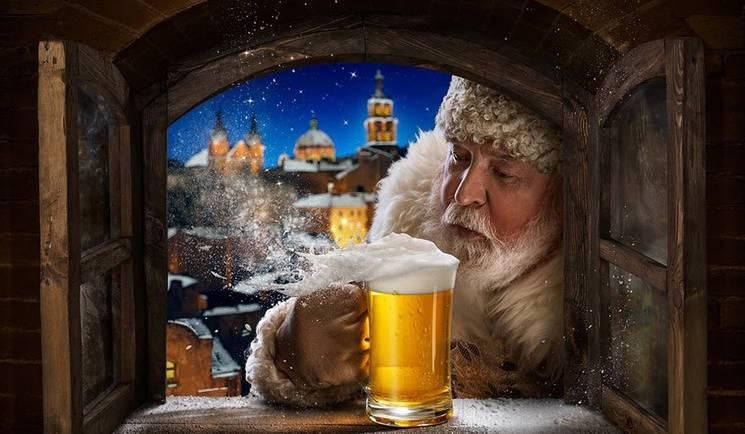 Какое пиво пьет Санта Клаус