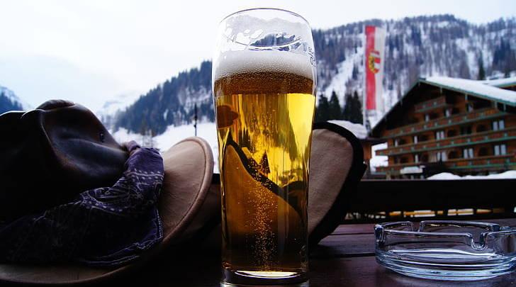 Как пить пиво зимой и летом