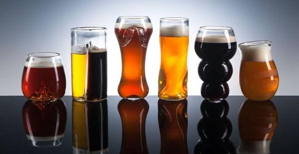 Из какой посуды пьют пиво