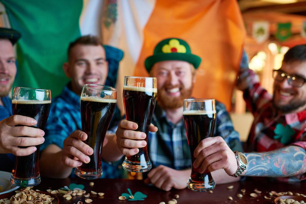 Как пью пиво в мэрии Дублина?