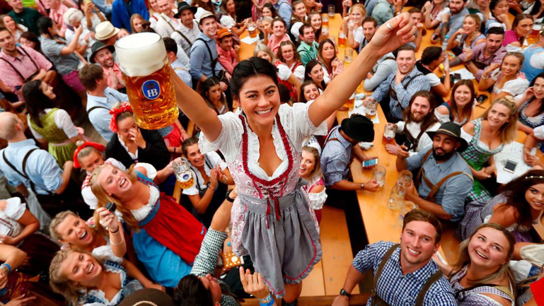 В Мюнхене начался Октоберфест