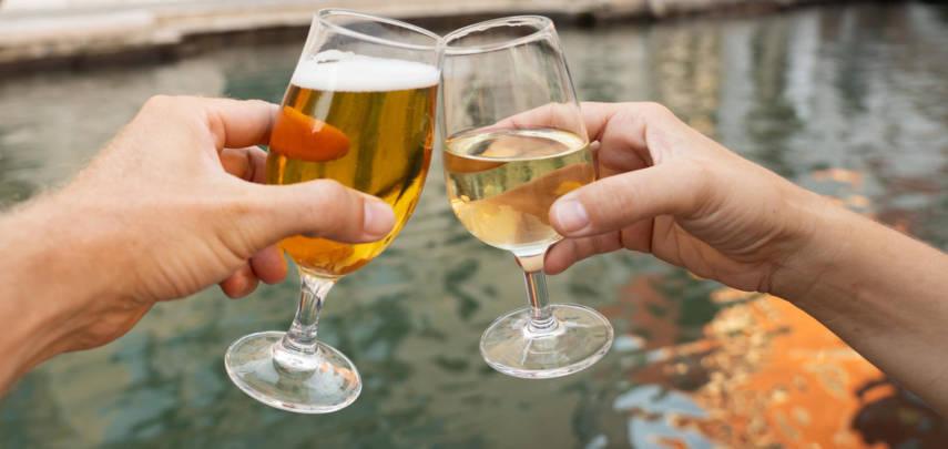 Французы стали пить пива больше, чем вина