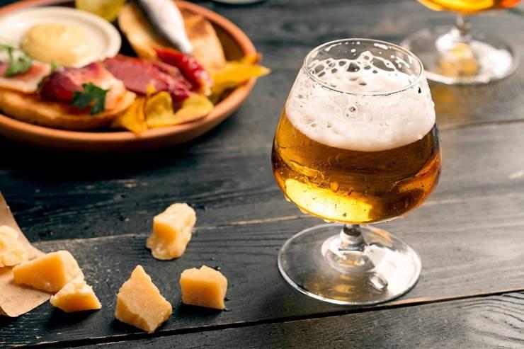 С чем сочетать фруктовое пиво