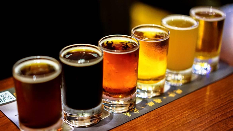 Японское цветное пиво для разных поколений