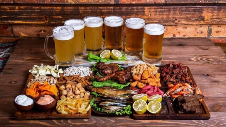 Как сочетать пиво и еду