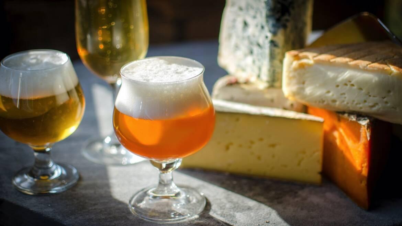 Сочетание пива и сыра