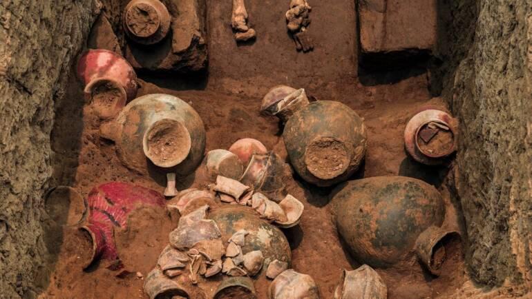 В Китае нашли следы древнейшего пива