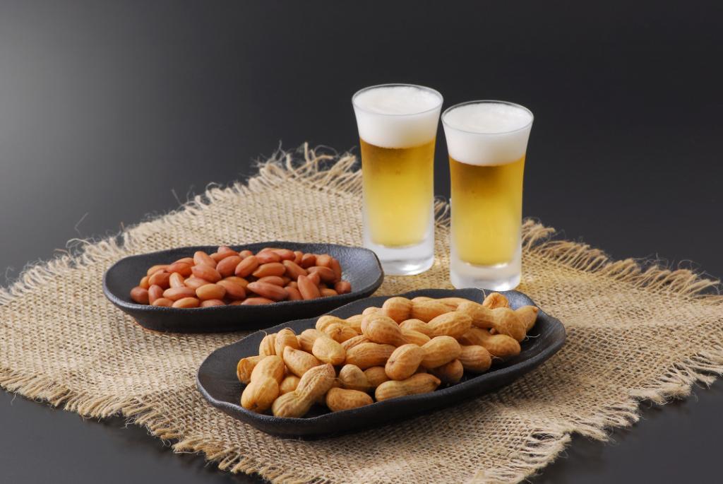 Пиво со вкусом арахиса
