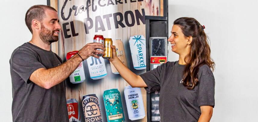 В офисах появились автоматы с пивом